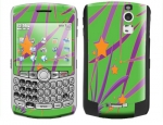 BlackBerry Curve 8300 Skin :: Floating Stars
