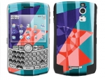BlackBerry Curve 8300 Skin :: Geometric Blast