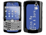 BlackBerry Curve 8300 Skin :: Kiss Me Dork