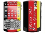 BlackBerry Curve 8300 Skin :: Kiss Me German