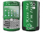 BlackBerry Curve 8300 Skin :: Kiss Me Irish