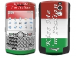 BlackBerry Curve 8300 Skin :: Kiss Me Italian