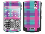 BlackBerry Curve 8300 Skin :: Candy Shop Plaid