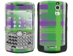 BlackBerry Curve 8300 Skin :: Punk Rock Plaid