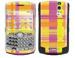 BlackBerry Curve 8300 Skin :: Sun Kissed Plaid