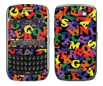 BlackBerry Curve 8900 Skin :: Alphabet Soup