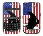 BlackBerry Curve 8900 Skin :: American Flag 2