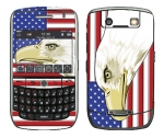 BlackBerry Curve 8900 Skin :: American Flag 3