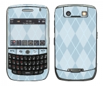 BlackBerry Curve 8900 Skin :: Argyle Blue