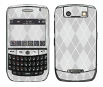 BlackBerry Curve 8900 Skin :: Argyle Gray