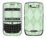 BlackBerry Curve 8900 Skin :: Argyle Green