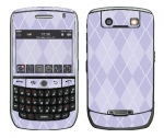 BlackBerry Curve 8900 Skin :: Argyle Purple