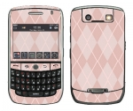 BlackBerry Curve 8900 Skin :: Argyle Red