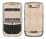 BlackBerry Curve 8900 Skin :: Argyle Tan