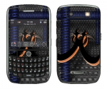 BlackBerry Curve 8900 Skin :: Bio Hazard