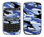 BlackBerry Curve 8900 Skin :: Camo Blue