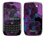 BlackBerry Curve 8900 Skin :: Cosmic Flowers 1