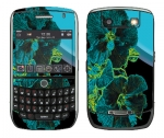 BlackBerry Curve 8900 Skin :: Cosmic Flowers 2
