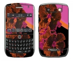 BlackBerry Curve 8900 Skin :: Cosmic Flowers 3