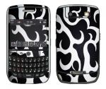 BlackBerry Curve 8900 Skin :: Curly Contours