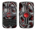 BlackBerry Curve 8900 Skin :: Cynic Red