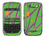 BlackBerry Curve 8900 Skin :: Floating Stars