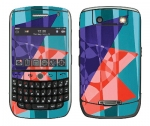 BlackBerry Curve 8900 Skin :: Geometric Blast