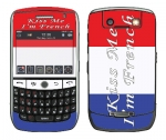 BlackBerry Curve 8900 Skin :: Kiss Me French