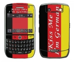 BlackBerry Curve 8900 Skin :: Kiss Me German