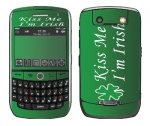 BlackBerry Curve 8900 Skin :: Kiss Me Irish