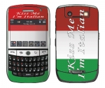 BlackBerry Curve 8900 Skin :: Kiss Me Italian