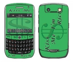 BlackBerry Curve 8900 Skin :: Kiss Me Rich