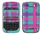 BlackBerry Curve 8900 Skin :: Candy Shop Plaid