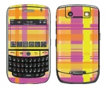 BlackBerry Curve 8900 Skin :: Sun Kissed Plaid