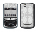 BlackBerry Tour 9630 Skin :: Argyle Gray