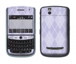 BlackBerry Tour 9630 Skin :: Argyle Purple