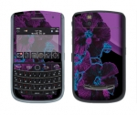BlackBerry Tour 9630 Skin :: Cosmic Flowers 1