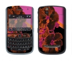 BlackBerry Tour 9630 Skin :: Cosmic Flowers 3