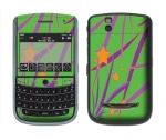 BlackBerry Tour 9630 Skin :: Floating Stars