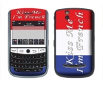 BlackBerry Tour 9630 Skin :: Kiss Me French
