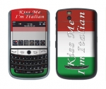 BlackBerry Tour 9630 Skin :: Kiss Me Italian