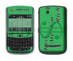 BlackBerry Tour 9630 Skin :: Kiss Me Rich