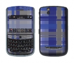 BlackBerry Tour 9630 Skin :: Oceans Deep Plaid