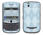 BlackBerry Bold 9650 Skin :: Argyle Blue
