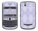 BlackBerry Bold 9650 Skin :: Argyle Purple