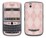 BlackBerry Bold 9650 Skin :: Argyle Red