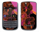 BlackBerry Bold 9650 Skin :: Cosmic Flowers 3