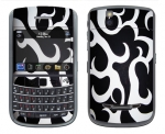 BlackBerry Bold 9650 Skin :: Curly Contours