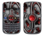 BlackBerry Bold 9650 Skin :: Cynic Red
