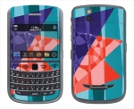 BlackBerry Bold 9650 Skin :: Geometric Blast